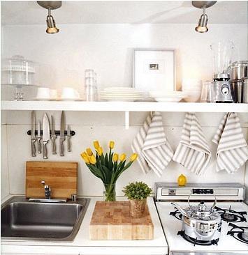 ideas cocinas pequenas 5 Ideas para Cocinas Pequeñas