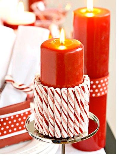 Ideas creativas para decorar con velas en navidad - Ideas creativas para decorar ...