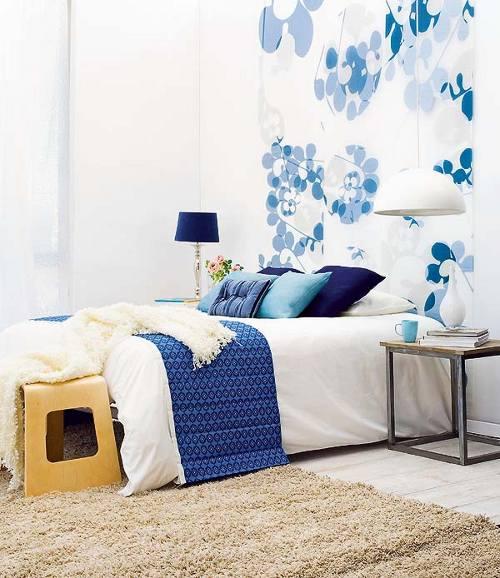 Ideas de decoraci n de dormitorios renovar el cabecero de - Decoracion cabecero cama ...