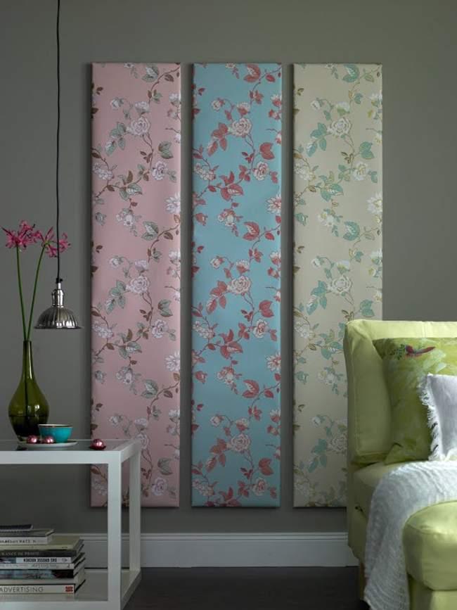 Ideas decoraci n de paredes con papel pintado - Papel pintado decoracion ...