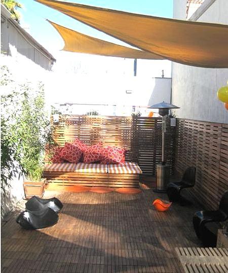 Ideas para decorar jardines y terrazas pr cticos y c modos - Ideas para una terraza ...