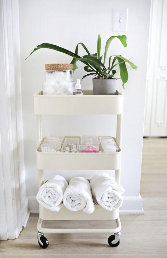 ideas para tener el baño en orden