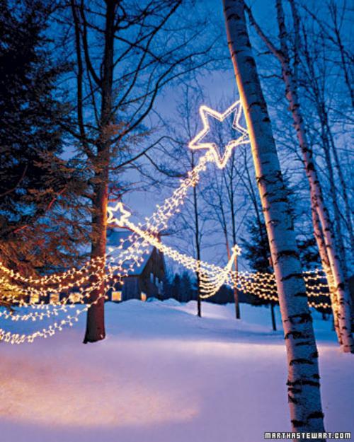 ideas para iluminar la casa en navidad 4 Ideas para Iluminar la Casa en Navidad