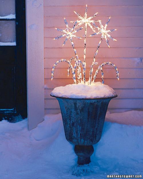 ideas para iluminar la casa en navidad 7 Ideas para Iluminar la Casa en Navidad