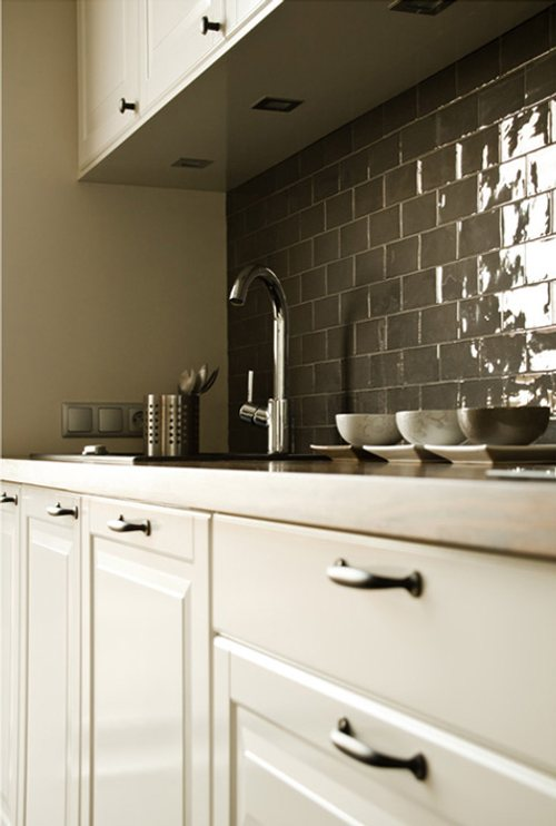 ideas para pintar viejos azulejos en cocinas