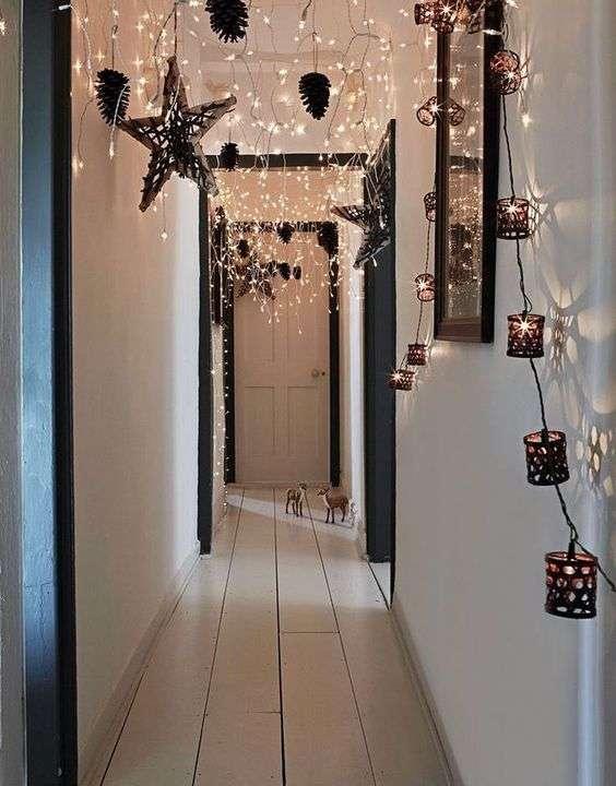iluminación para ambientes festivos