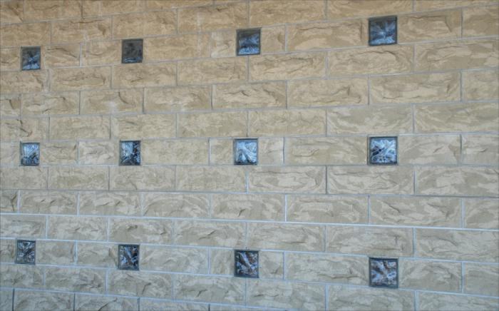 Iluminaci n y color con cristales de pav s - Cristales para paredes ...