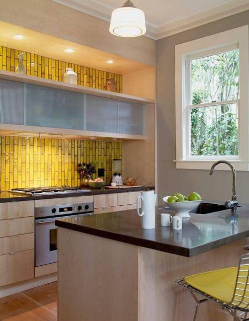 Iluminaci n de los gabinetes de cocina - Luminarias para cocina ...