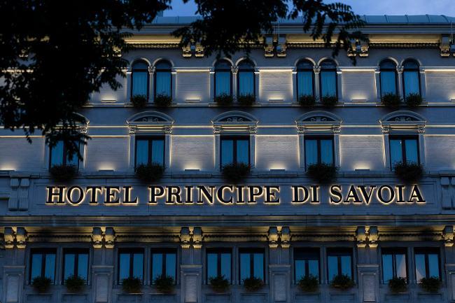 Iluminación de un hotel de lujo