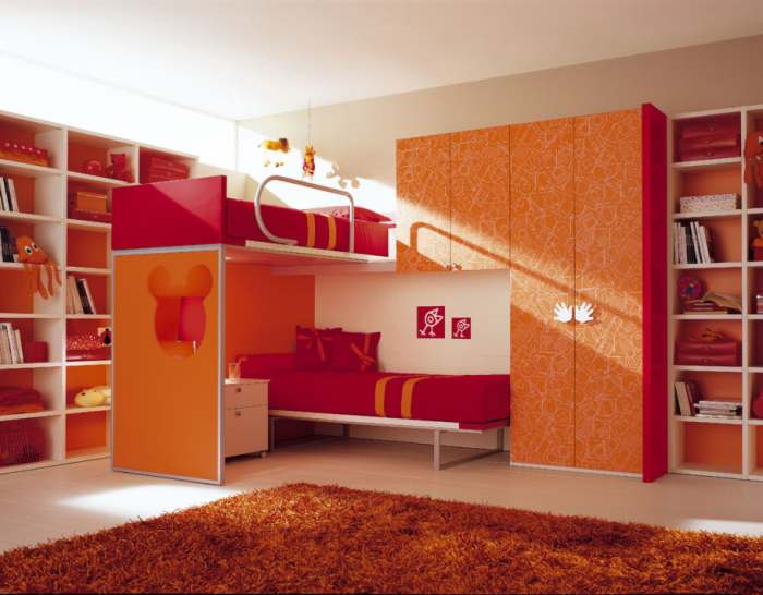 Cuartos para ni as imagui - Dormitorios infantiles dobles ...