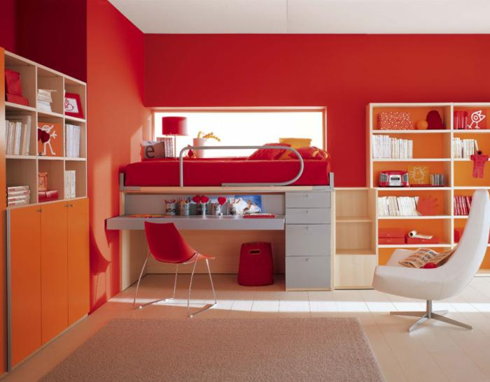 Kids Bedroom Study Room 700 x 546