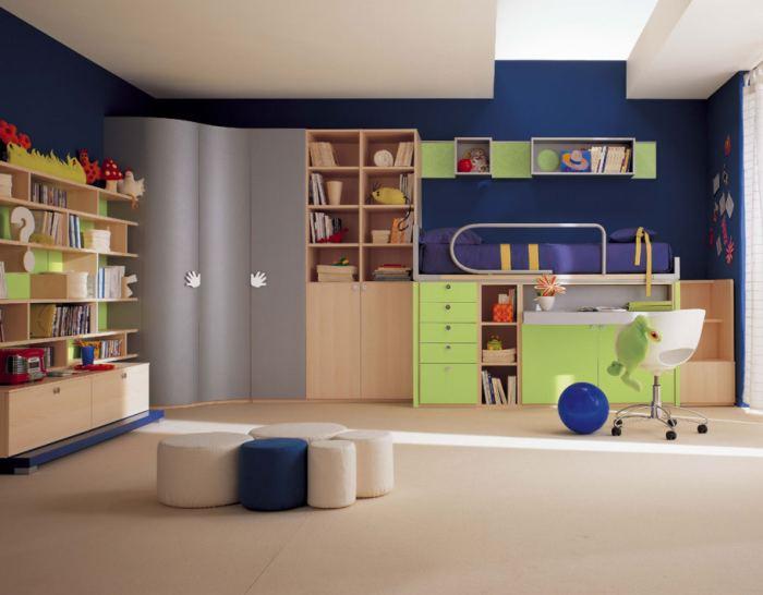 Inspiradores dormitorios para ni os y j venes - Dormitorios infantiles ninos ...