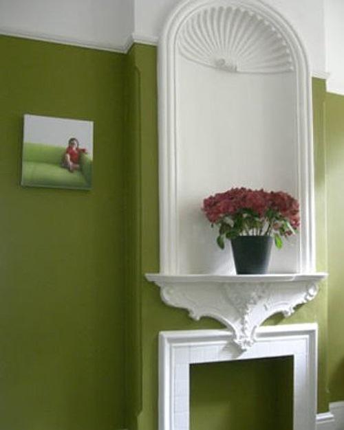 Una casa para colorear imagui - Pintar las paredes de casa ...