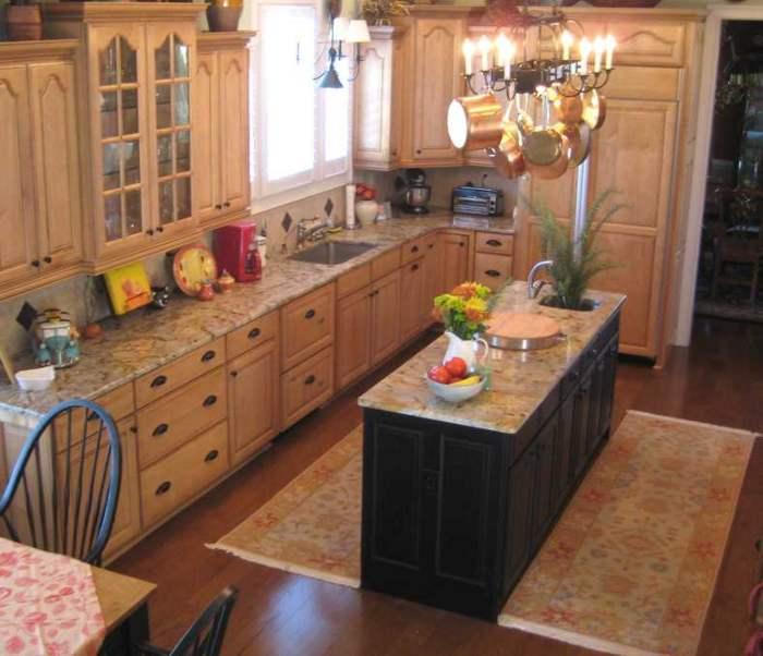 C mo aprovechar una isla o barra de cocina for Muebles de cocina tipo isla