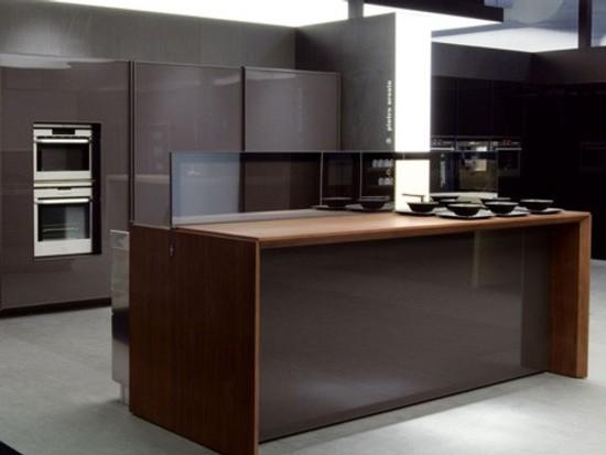 Isla de cocina de dise o automatizada - Disenos de islas para cocinas ...