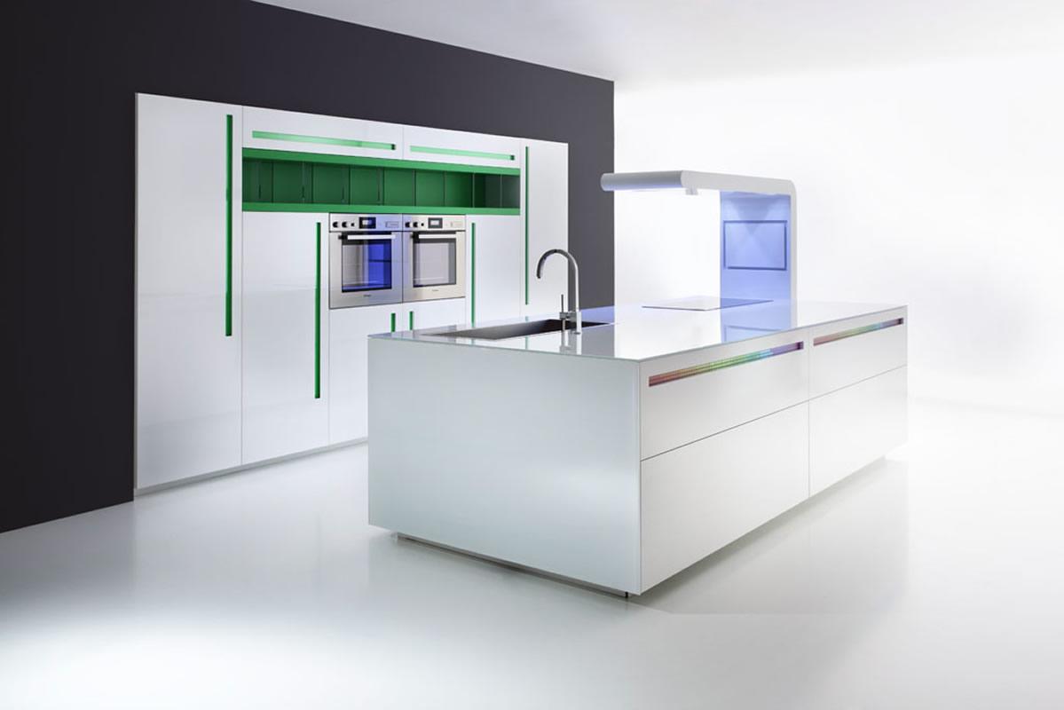 Cocinas de dise o limpio modular y creativo - Cocinas con diseno ...