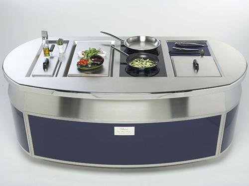 Isla de cocina un dise o de lujo - Islas de cocina moviles ...