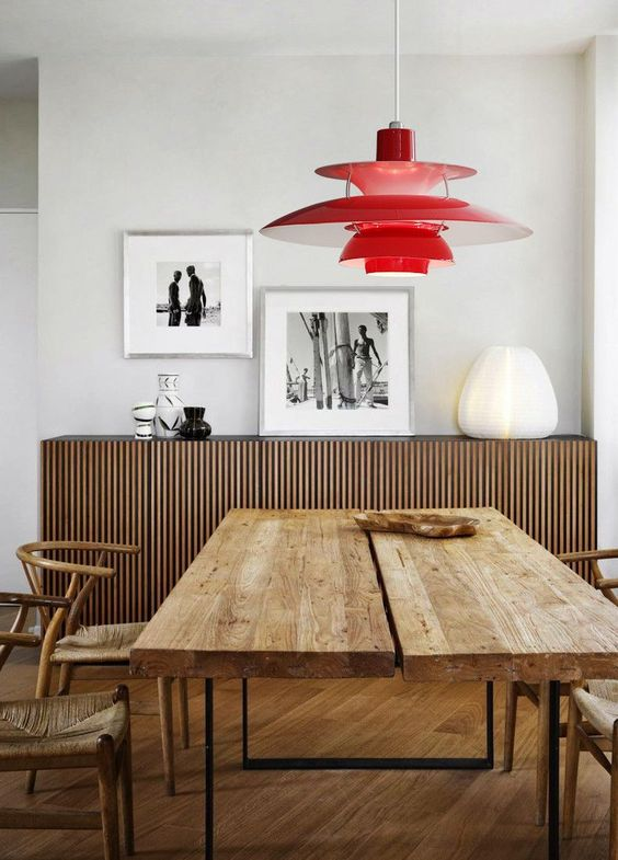lámpara de diseño danés