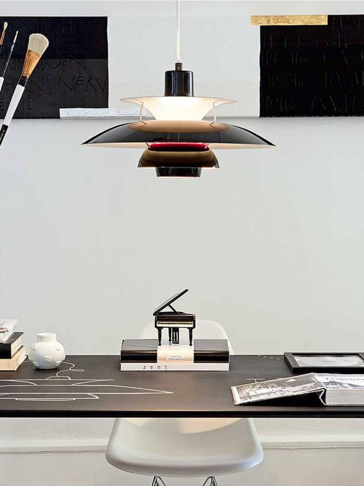 lámparas de diseño clásicas de estilo danés
