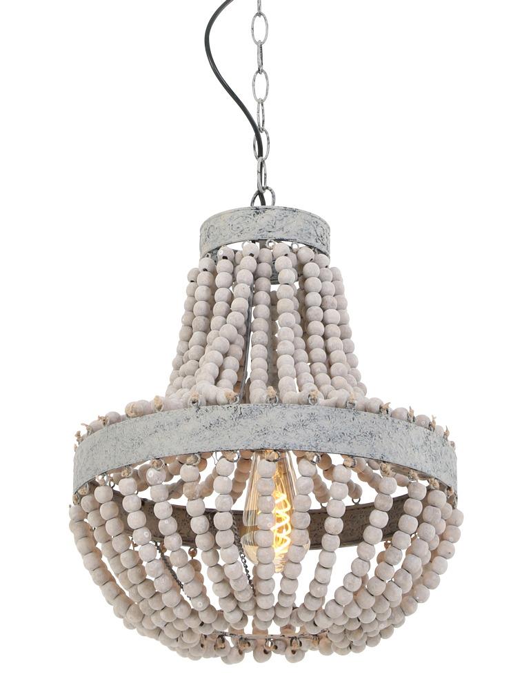 lámpara colgante de estilo rústico