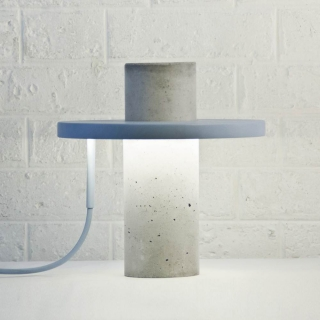 Lámpara de Líneas Puras, Totem Lamp