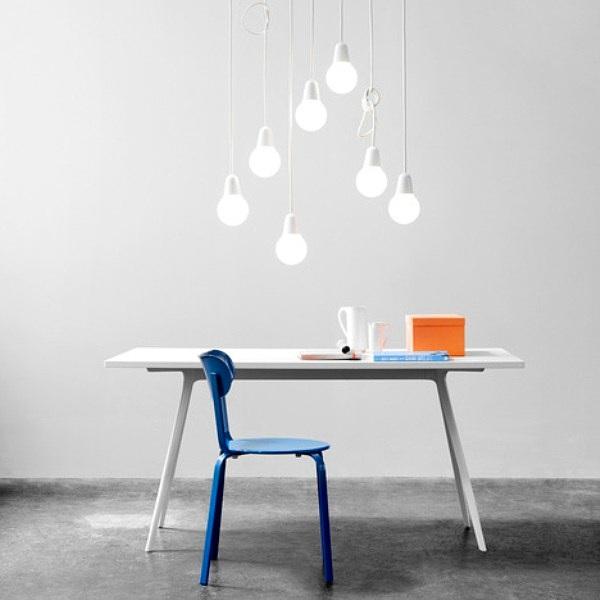 lámpara minimalista