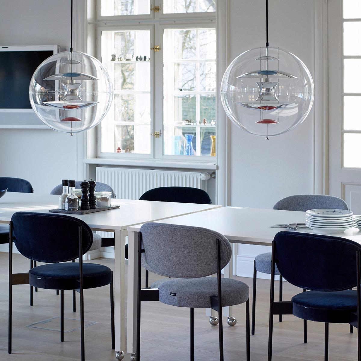 Lámpara diseño de Verner Panton