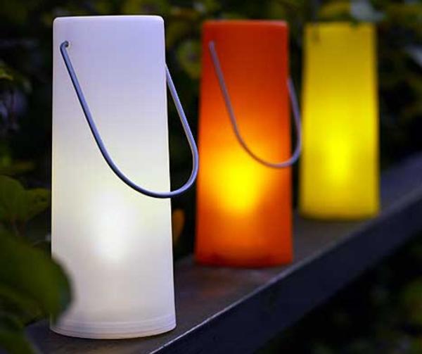 L mparas led solares para el jard n de ikea for Lamparas exterior ikea