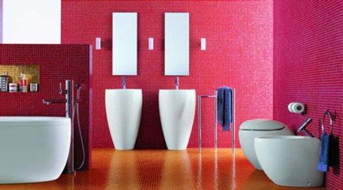 Il bagno alessi one cuartos de ba o modernos y con estilo for Laufen sanitarios