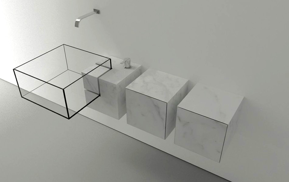 lavabo minimalista