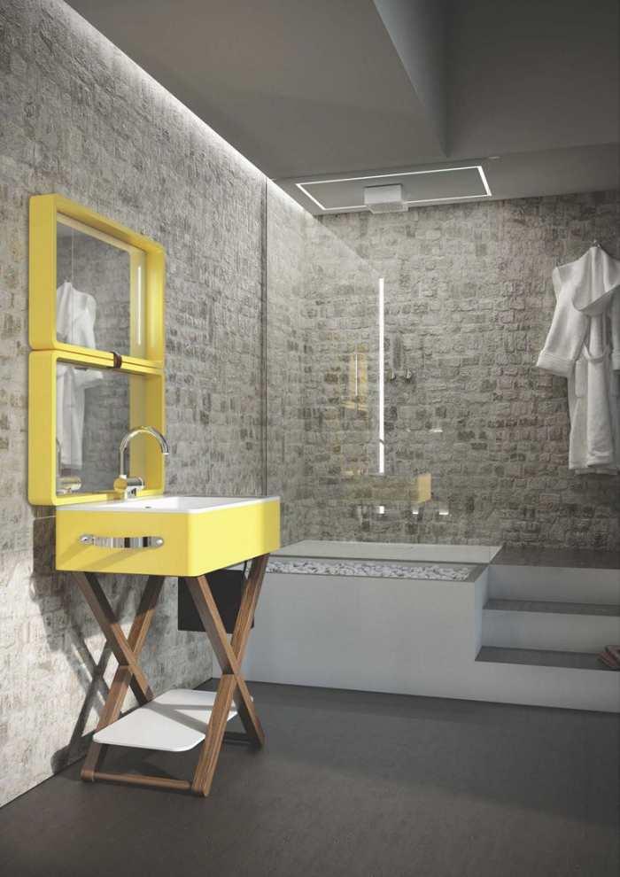 funcional e innovador lavabo mueble de ba o my bag. Black Bedroom Furniture Sets. Home Design Ideas
