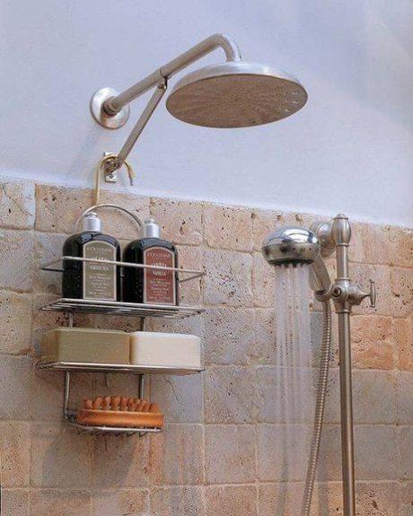 limpieza de rociadores de ducha