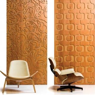Decoracion mueble sofa revestimiento en madera para - Panelados para paredes ...