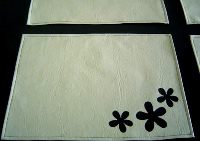 Manteles individuales de polipiel o cuerina - Ideas para hacer manteles ...