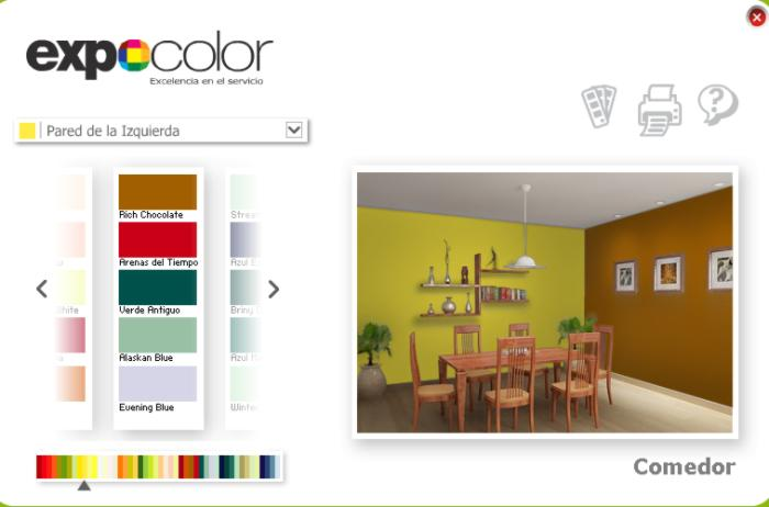 M s simuladores de colores y ambientes - Pinturas bruguer simulador de ambientes ...