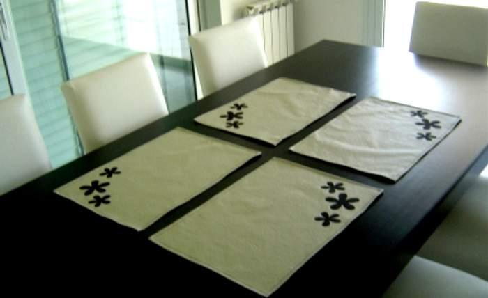 Manteles individuales de polipiel o cuerina - Individuales para mesa ...