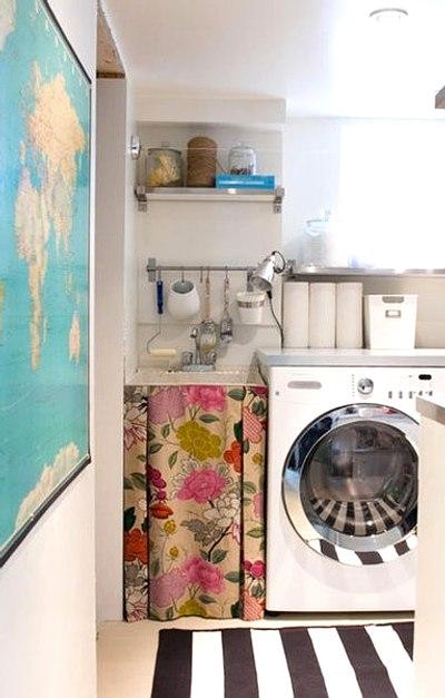 mini cocina con toques personales