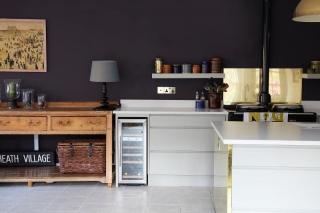 Mix de Materiales y Estilos en una Cocina