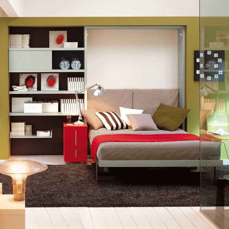 Muebles para ahorrar espacio cama y escritorio ulisse - Muebles para ahorrar espacio ...
