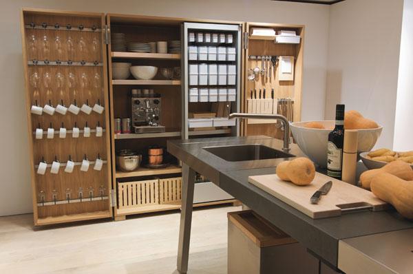 Pr cticos muebles de cocina bulthaup for Cuisine bulthaup prix