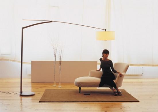 Modelos modernos de l mparas de pie for Modelos de lamparas