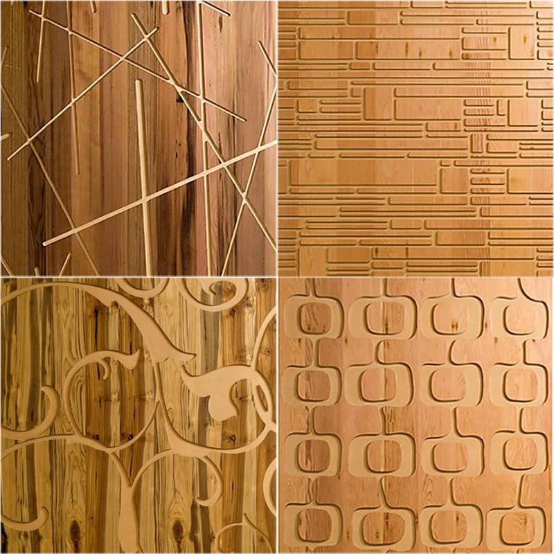 Revestimiento para paredes interiores en madera for Decoracion en madera para pared
