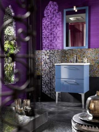 Modernos Baños de Inspiración Marroquí