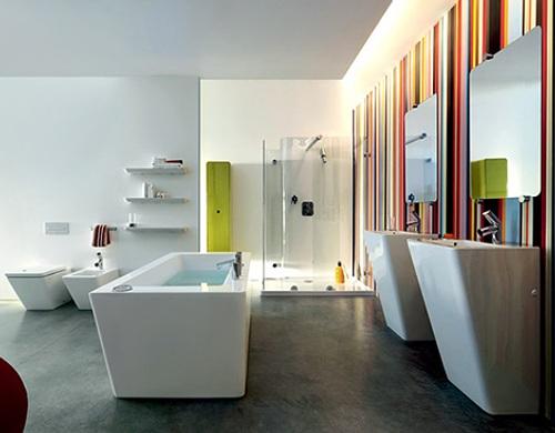 modernos baños