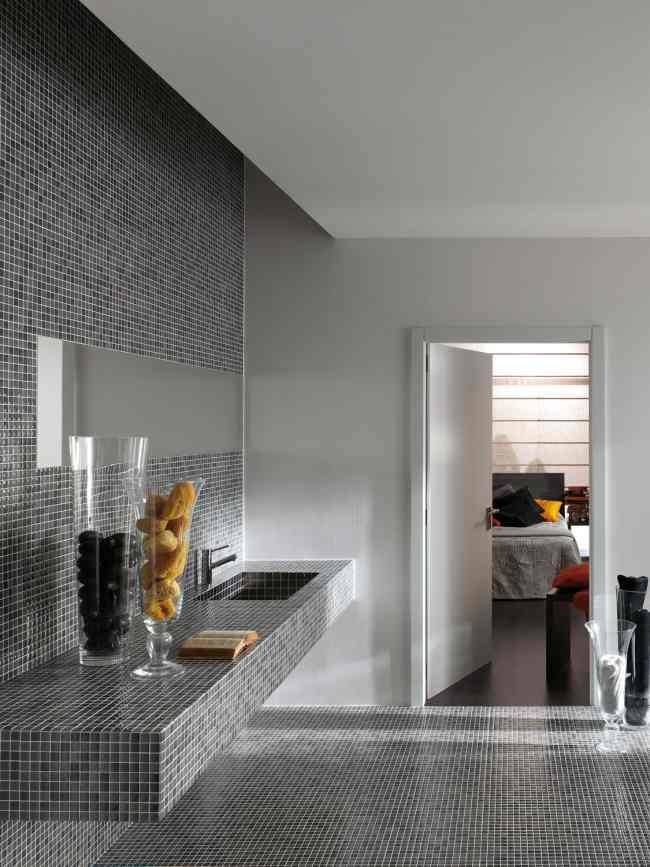 Decorar Baño Sin Obra:mosaicos vítreos para hacer reformas sin obras