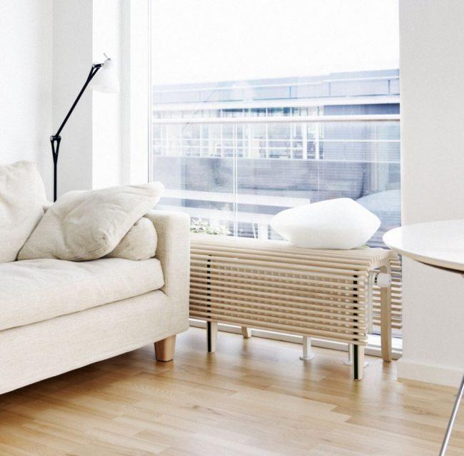 Mueble pr ctico y moderno para ocultar el radiador for Muebles para cubrir radiadores