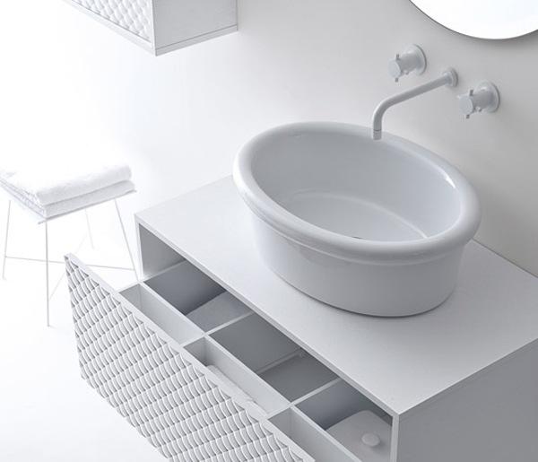 muebles bano atemporales blanco negro 3 Muebles de baño Atemporales en Blanco y Negro