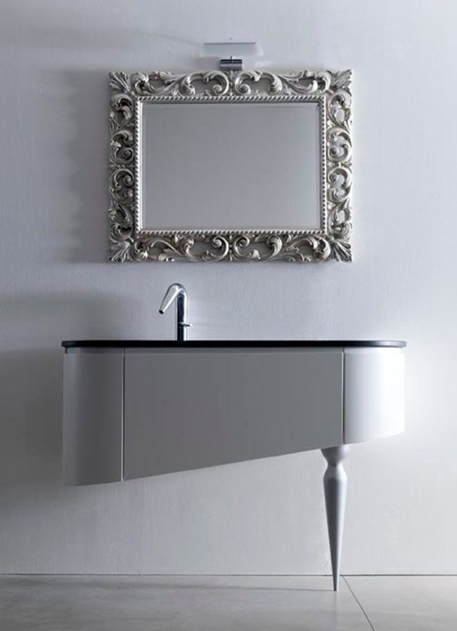 Baños Diseno Muebles:Ultra Modern Bathroom Vanity