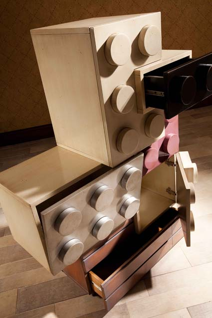muebles basados en Lego