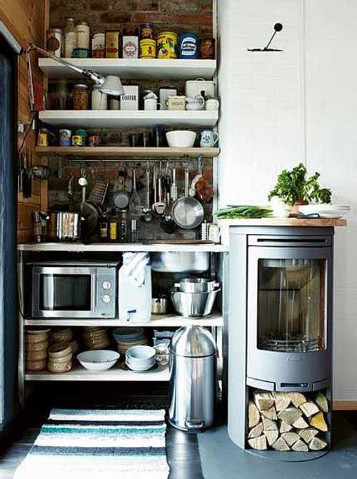 muebles cocinas pequenas Ideas para Decorar Cocinas Pequeñas